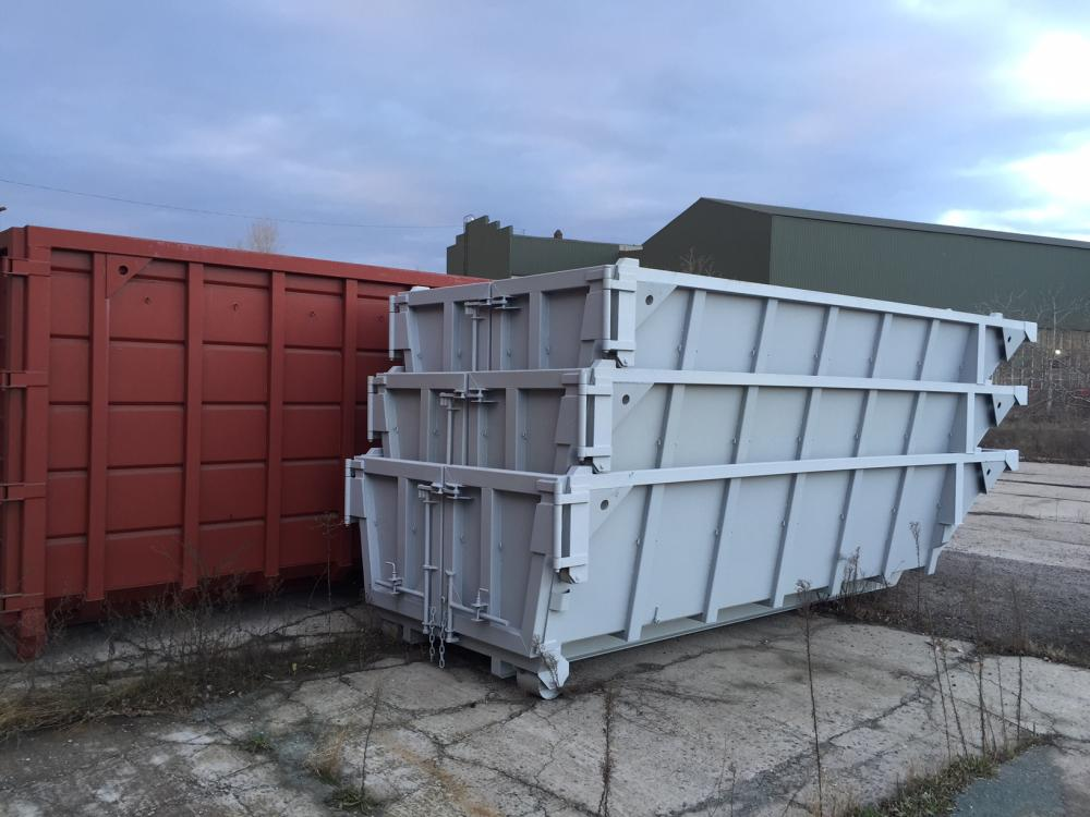 Hooklift Containers Matryoshka For Construction Waste